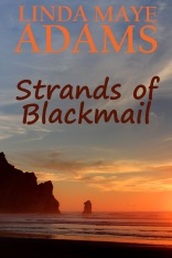 Cover for Strands of Blackmail