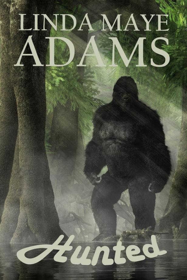 Shapeshifter fantasy fiction cover showing a sasquatch shifter in the Cascade Mountains.