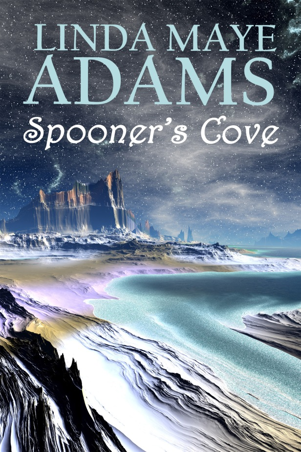 Cover for the fantasy Spooner's Cove: A spooky ocean beach with ominous cliffs