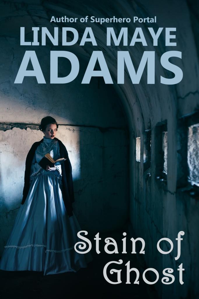 Woman walks through eerie hallway in Stain of Ghost